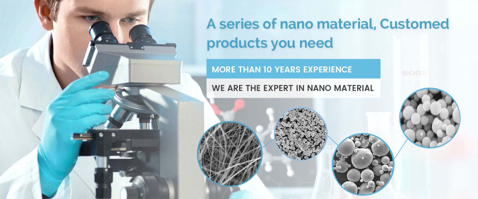 Nano material customed